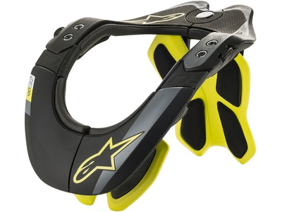 Alpinestars Bns Tech-2 Neck Brace Black-Fl Yellow
