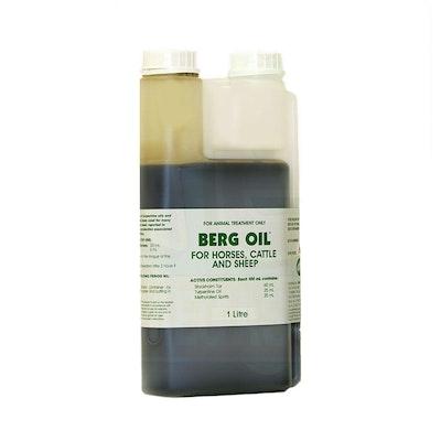 International Animal Health Berg Oil Horses & Cattle Treatment - 2 Sizes