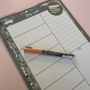 Magnet | Weekly Planner - Boho Design (A3 Size)
