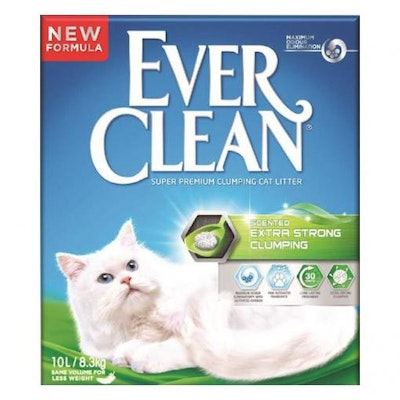 EVER CLEAN Scented Extra Strong Clumping Cat Litter 10L