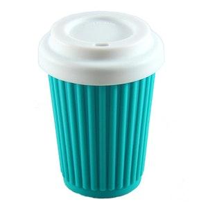 Onya BYO Coffee Cup Regular 355ml (12oz) Aqua