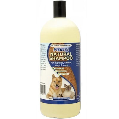 Fidos Natural Dogs & Cats Soap Free Grooming Shampoo - 3 Sizes