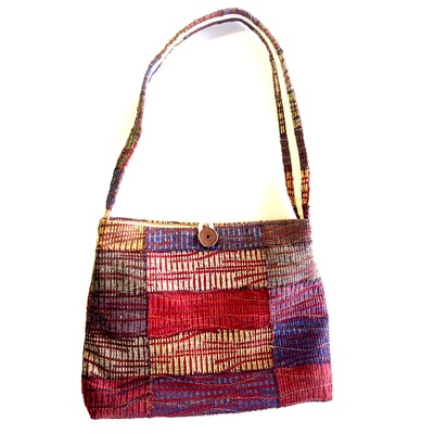 Karhina Red Centre Handbag