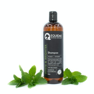 Equidae Whiter & Brighter Shampoo (Purple/ Peppermint)