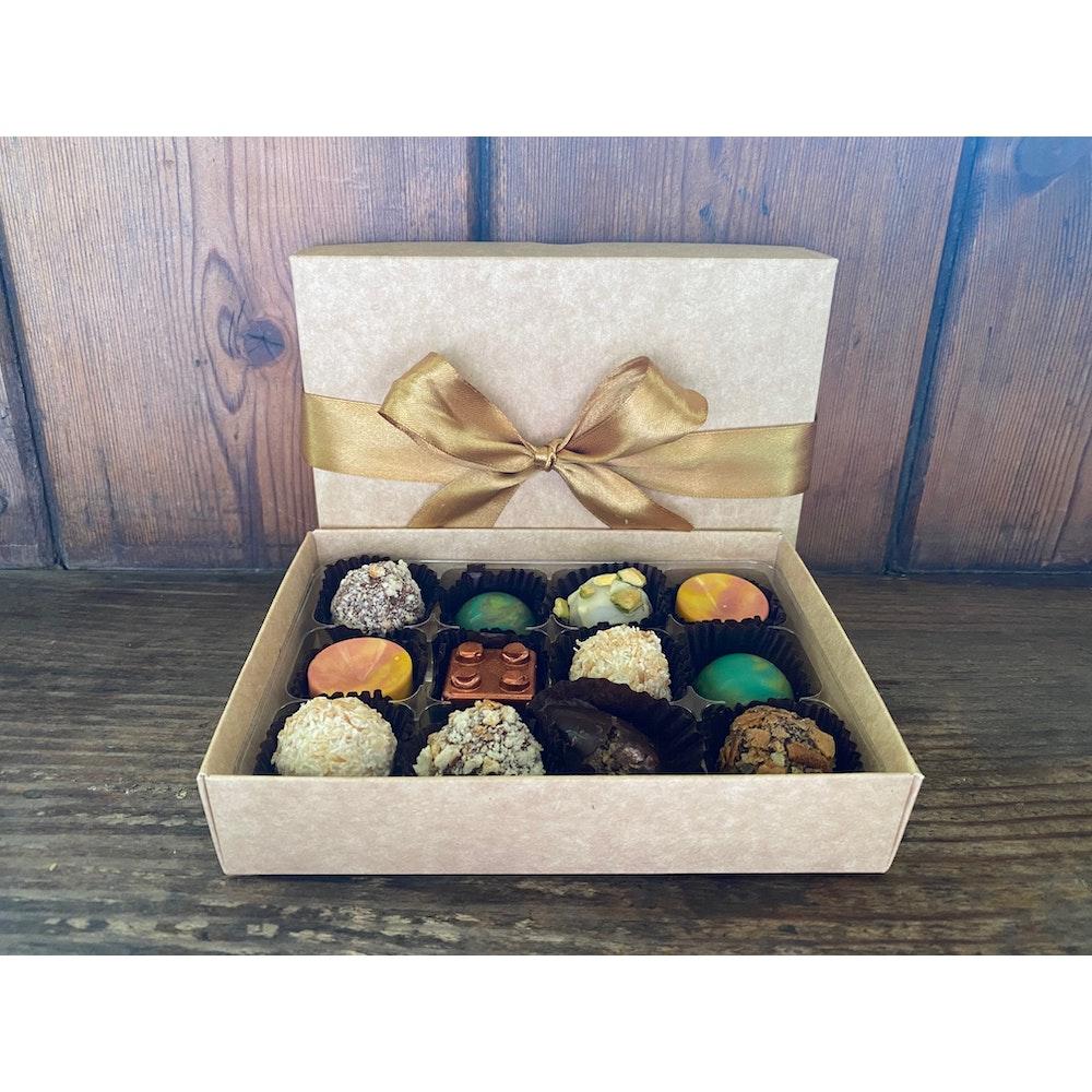 Lifetime of Chocolate 12 Piece Chocolate Box