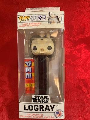 *** MAKE AN OFFER*** Logray Funko POP PEZ Dispenser Ewok Star Wars Limited Edition in box 2019
