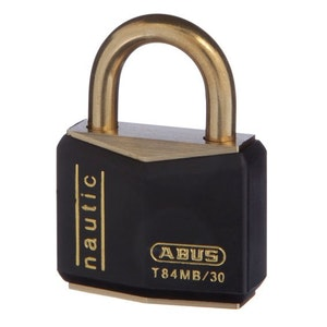 ABUS Nautical/Marine Padlock T84MB/30 With Weather Cover