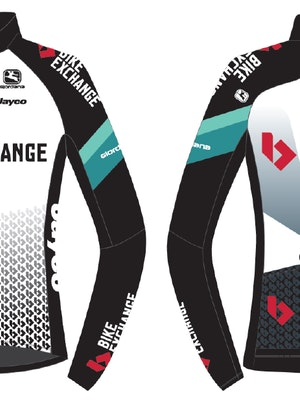 Giordana Team BikeExchange FRC Pro Long Sleeve Jersey