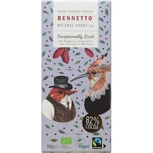 Benetto Exceptionally Dark 82% Cocoa - 100g