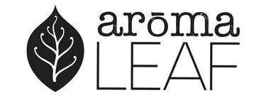 Image of aromaLEAF Logo
