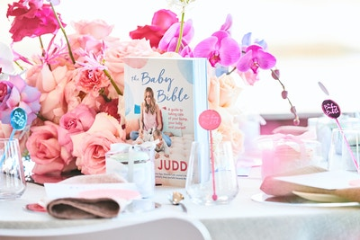BEC JUDD LAUNCHES HER FIRST BOOK, 'THE BABY BIBLE'