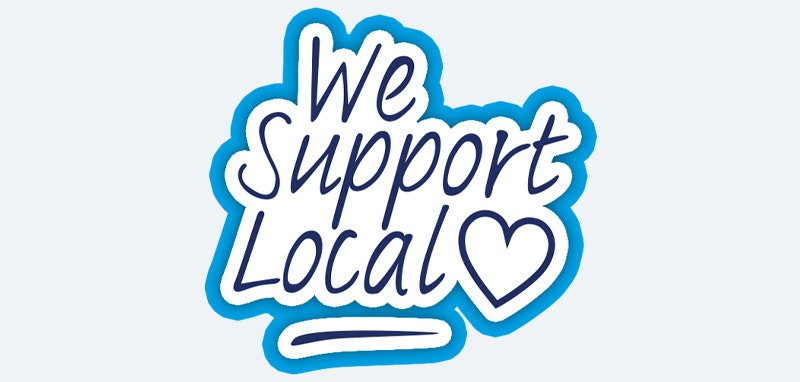 We Support Local