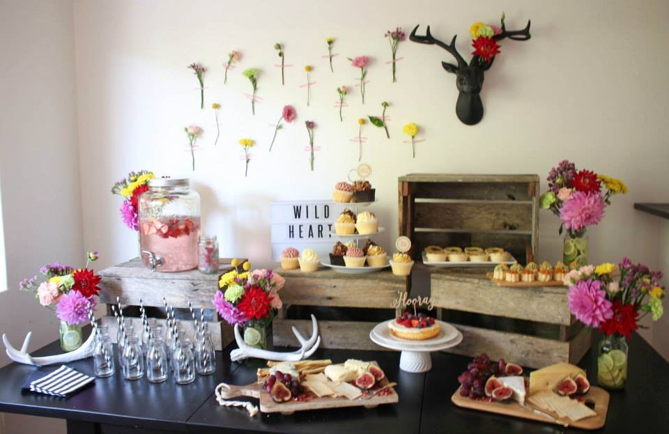 FLORAL + FRUITY BIRTHDAY PARTY