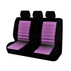 Universal Ice Mesh Rear Seat Covers Size 06/08Z | Purple