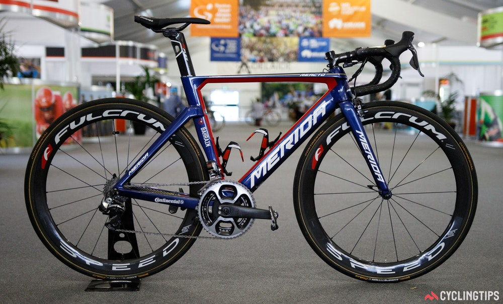 Bahrain Merida Reacto Team Bike 2017 1