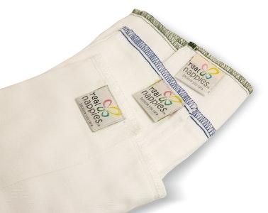 Cotton Nappy Prefolds - 6 pack