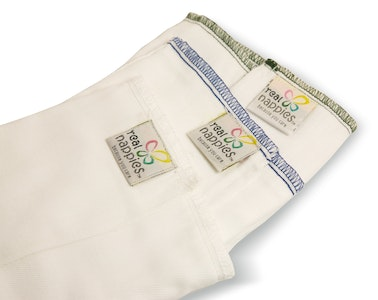 Cotton Nappy Prefolds - 6 pack
