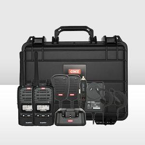 GME 5/1 Watt UHF CB Handheld Radio - Twin Pack