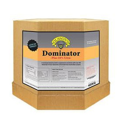 Olsson Dominator 10% Urea Cattle & Sheep Feed Supplement 15kg