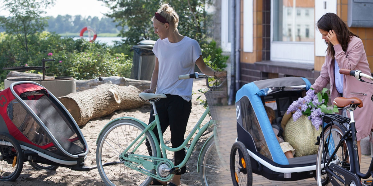 Hamax - Which one is right for me – the Outback, the Avenida or the Traveller bike trailer?