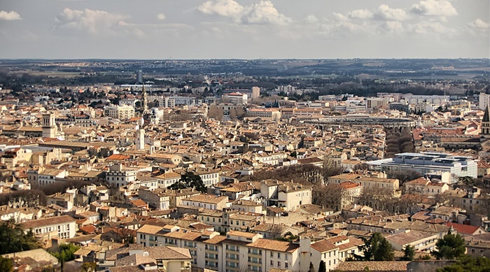 The French town of Nimes