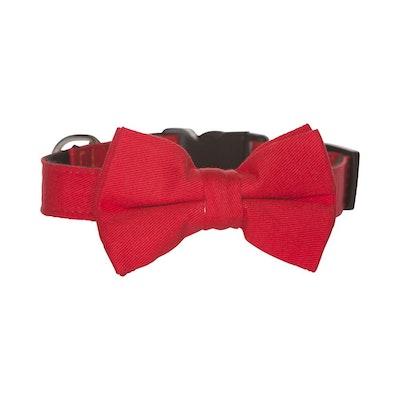 Hamish McBeth Bow Tie Dog Collar - Red