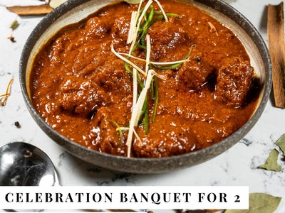 Celebration banquet for 2 (Chicken & Beef) $47.50 pp