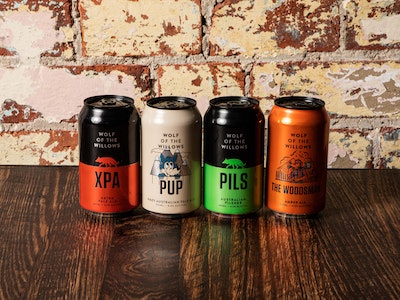 Wolf of the Willows Brewery Mixed Four Pack