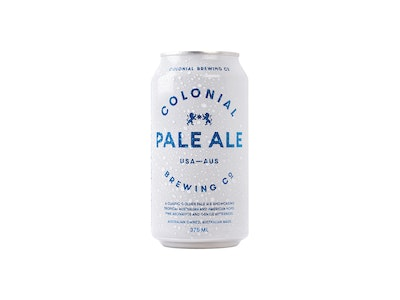 Colonial Brewing Co. Pale Ale Can 375mL