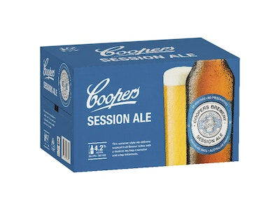Coopers Session Ale Bottle 375mL Case