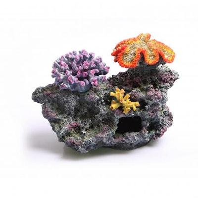 Aqua One AO Ornament 3 Corals on Live Rock