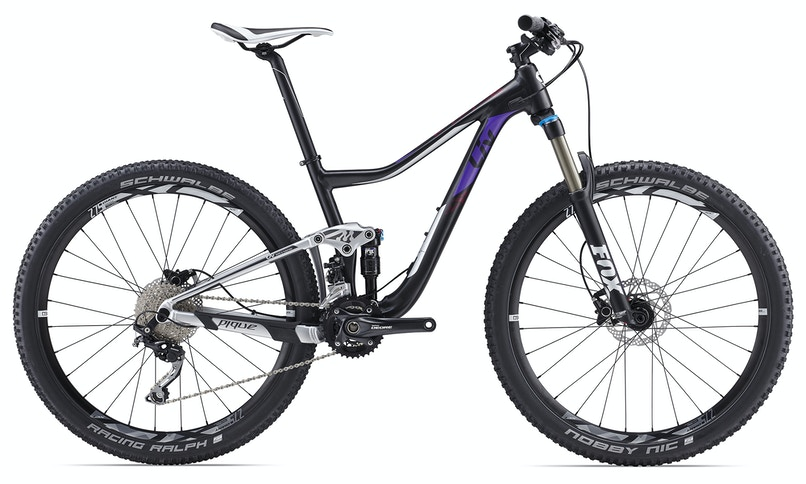 "Pique 3, 27.5"" Dual Suspension MTB Bikes"