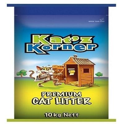 Laucke Mills Katz Corner Premium Cat litter Odour Control High Absorption 10kg