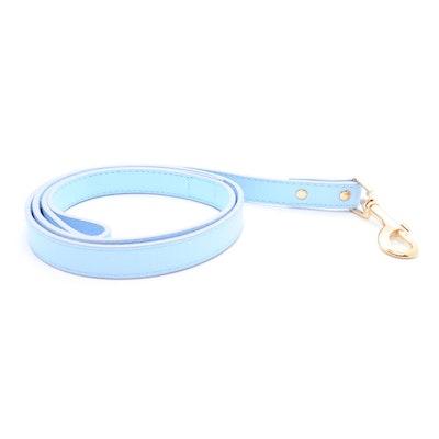 Petzy Light Blue - Premium Pet Lead (Gold)