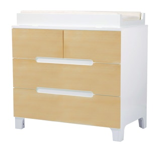 Alma Dresser Natural/Coconut White