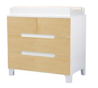 Alma Dresser Natural/Coconut White