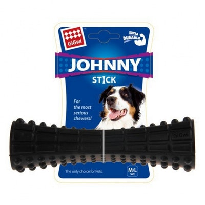 GIGWI Johnny Stick Extra Durable- Black