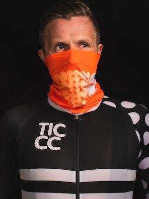 TIC CC Neck warmer Neon orange