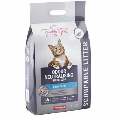 Trouble N Trix Trouble & Trix Fresh Scent With Baking Soda Clumping Cat Litter