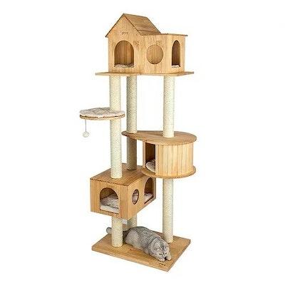 Honeypot CAT® Solid Wood Cat Tree 191cm