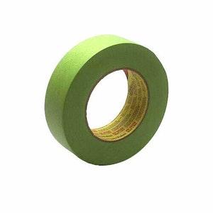 3M Masking Tape 233 Green 18mm, 26334, 1 Roll