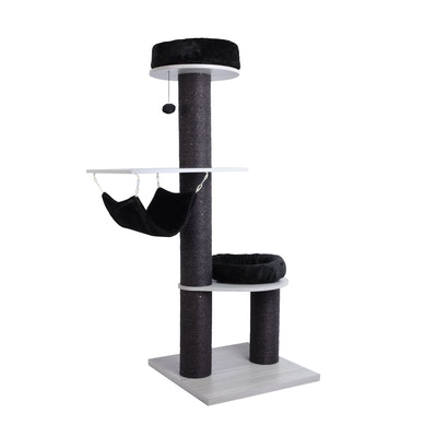 Charlie's UFO Cat Tree Tower with Nest and Hammock