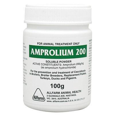 ALLFARM All Farm Amprolium 200 Soluble Power Coccidiosis Treatment 100g