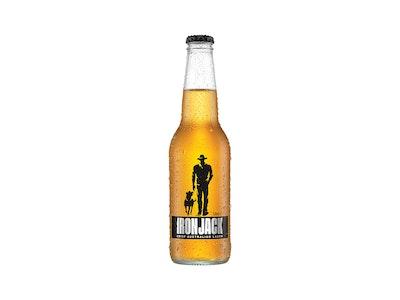 Iron Jack Crisp Lager Bottle 330mL