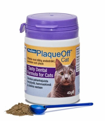 Troy Plaque Off for Pet Cats Tartar Bad Breath Plaque 40g