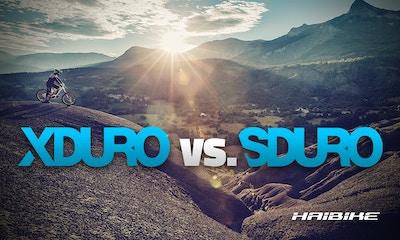 Haibike XDURO, SDURO & FLYON 2019: Die Unterschiede erklärt