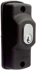 BDS momentary key switch spring return on/off in black