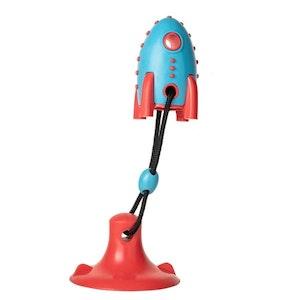 DoggyTopia Rocket Suction Tug Toy
