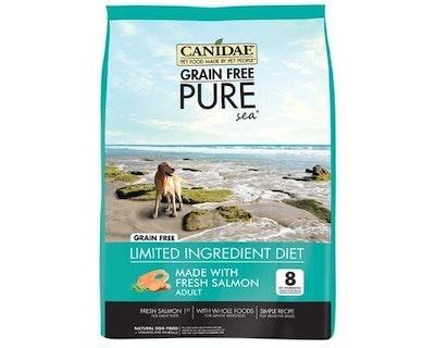 Canidae Adult Grain Free Pure Sea Dry Dog Food Fresh Salmon - 3 Sizes