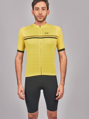 Taba Fashion Sportswear Camiseta Ciclismo Hombre Banana